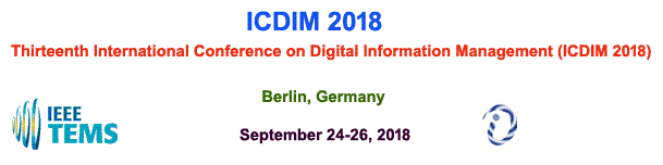 The Thirteenth International Conference on Digital Information Management